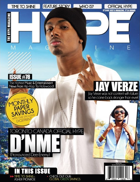 Hype Magazine Cover