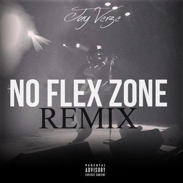 Jay Verze - No Flex Zone (Cover Art)