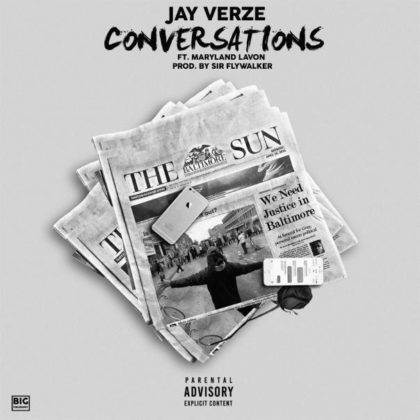 Jay Verze - Conversations (Cover Art)