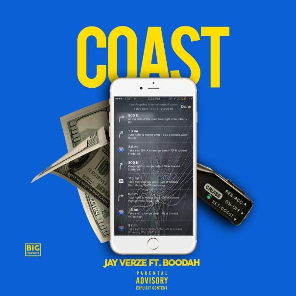 Jay verze - Coast (Cover Art)